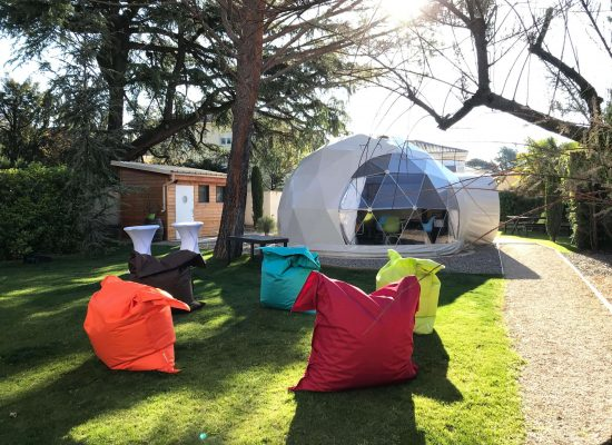 Organisation séminaire réunion formation Drôme espace confortable et original - Work'in Bulle Romans sur Isère